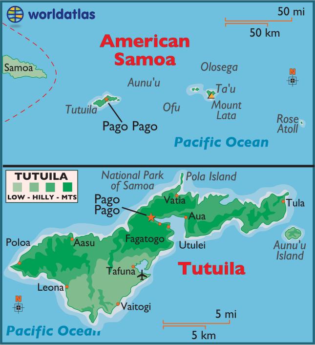 The Manu'a Islands.
