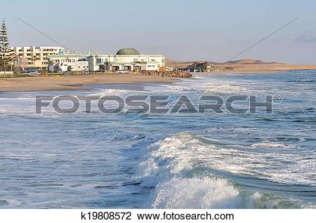 Stock Photo of National Marine Aquarium in Swakopmund, Namibia.