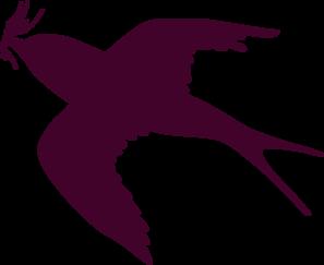 Swallow Purple Clip Art at Clker.com.