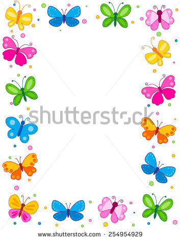 Blue Butterfly Clipart Stock Images, Royalty.