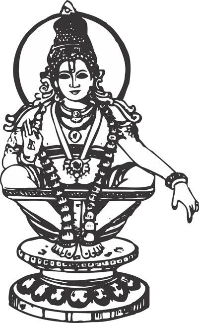 Ayyappa Swami Cliparts.