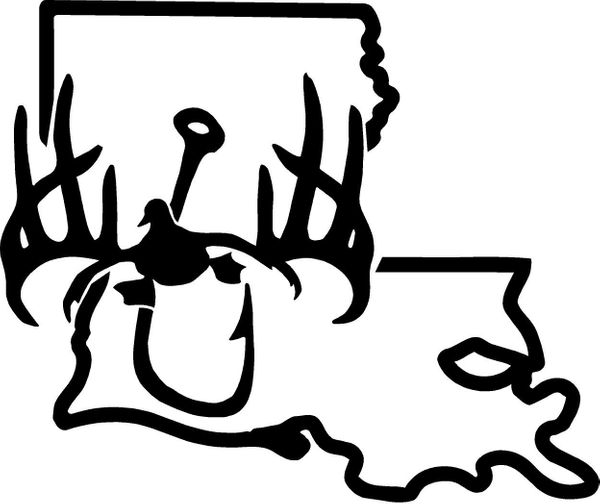 STATE DECALS (CLICK AND CHOOSE YOUR STATE).