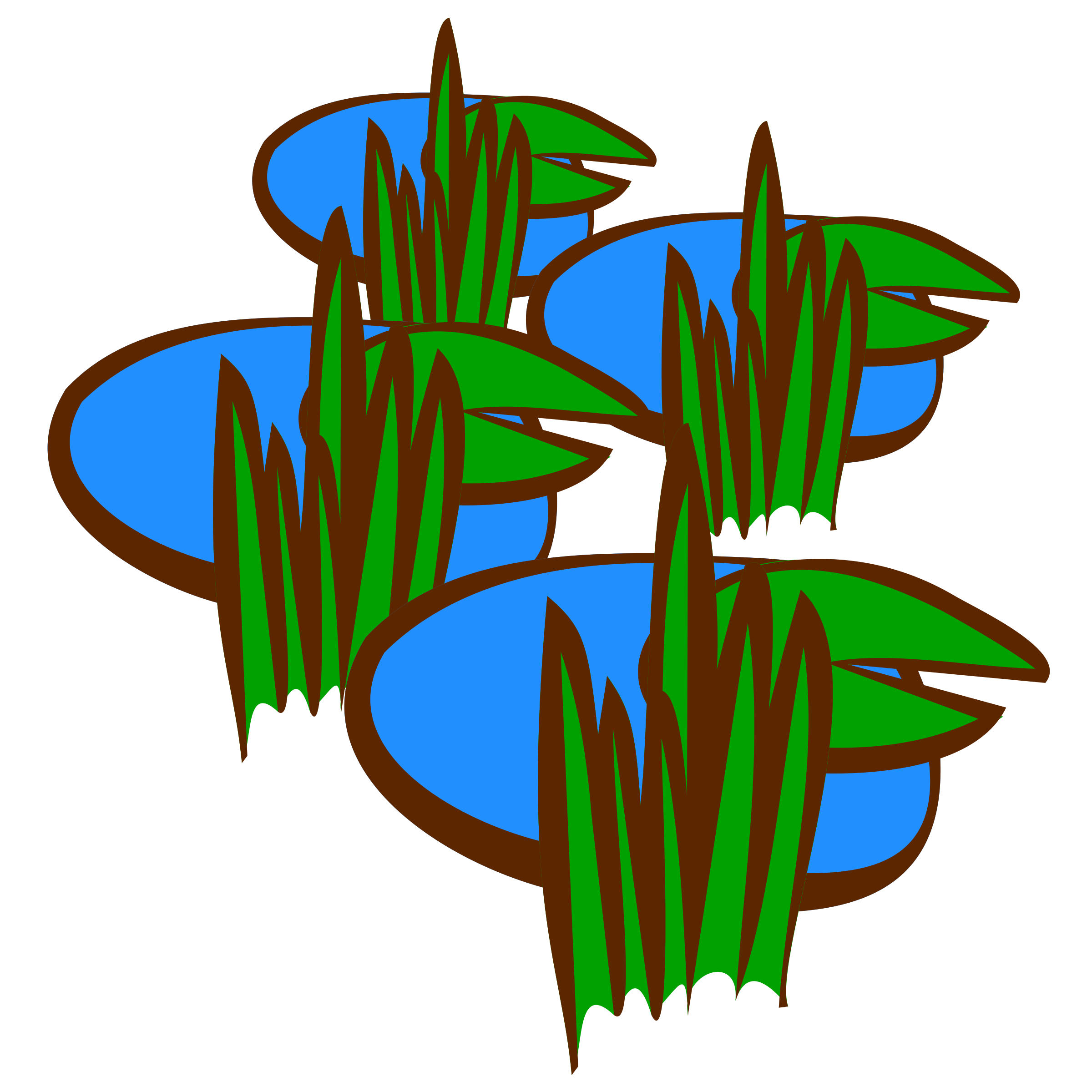 Swamp Clipart.