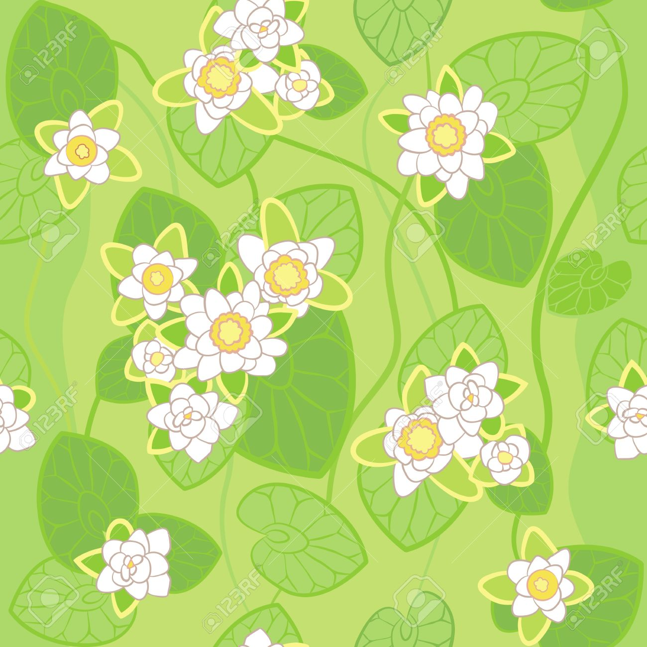 Swamp Water Background Clipart.