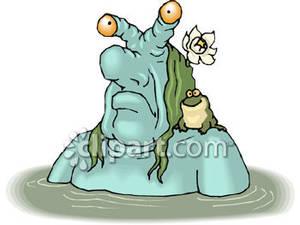 Swamp Monster.