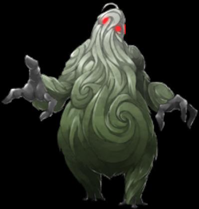 Swamp Monster PNG.