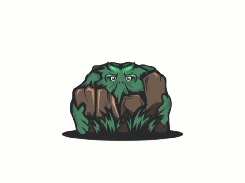 Download Free png Swamp Monster by Garasigrafis on Dribbble.