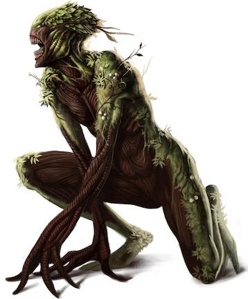 Honey Island Swamp Monster.