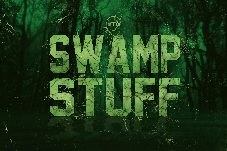 Swamp Thing Logo.