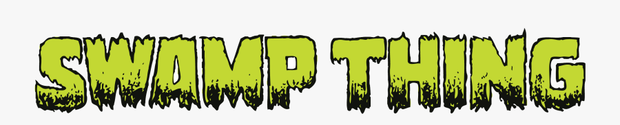Swamp Thing Logo Png , Free Transparent Clipart.
