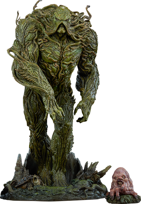 DC Comics Swamp Thing Maquette by Sideshow Collectibles.