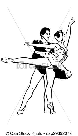 Swan Lake Clipart Swan ballet cli...