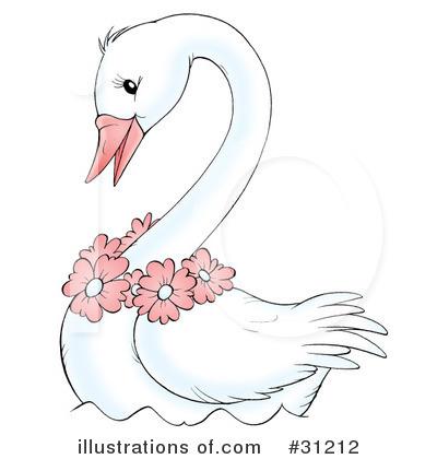 Swan Clipart #31212.