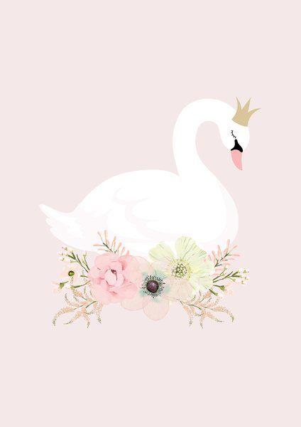 Swan Princess Print.