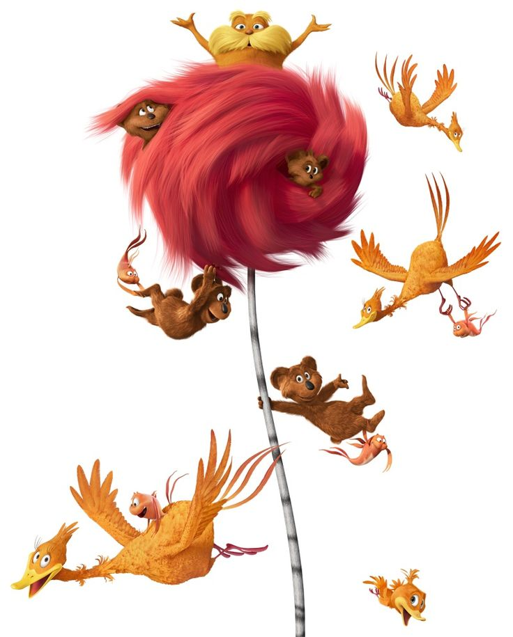 Dr seuss and lorax images on seuss week clip art.