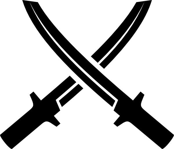 Crossed Swords Clip Art at Clker.com.