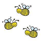 Swarm Of Bees Clip Art.