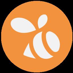 Swarm Logo Icon of Flat style.