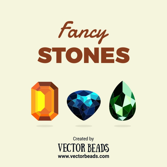 Beads vector graphics.