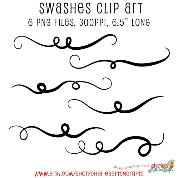 Swashes Swash Clip Art Decorative Swirls Decorative by.