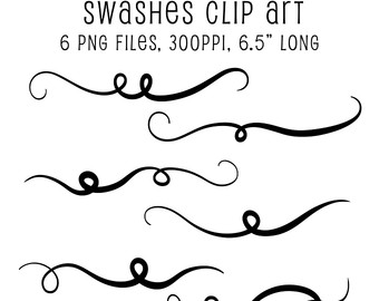 Swash clip art.