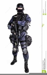 Swat Team Clipart.