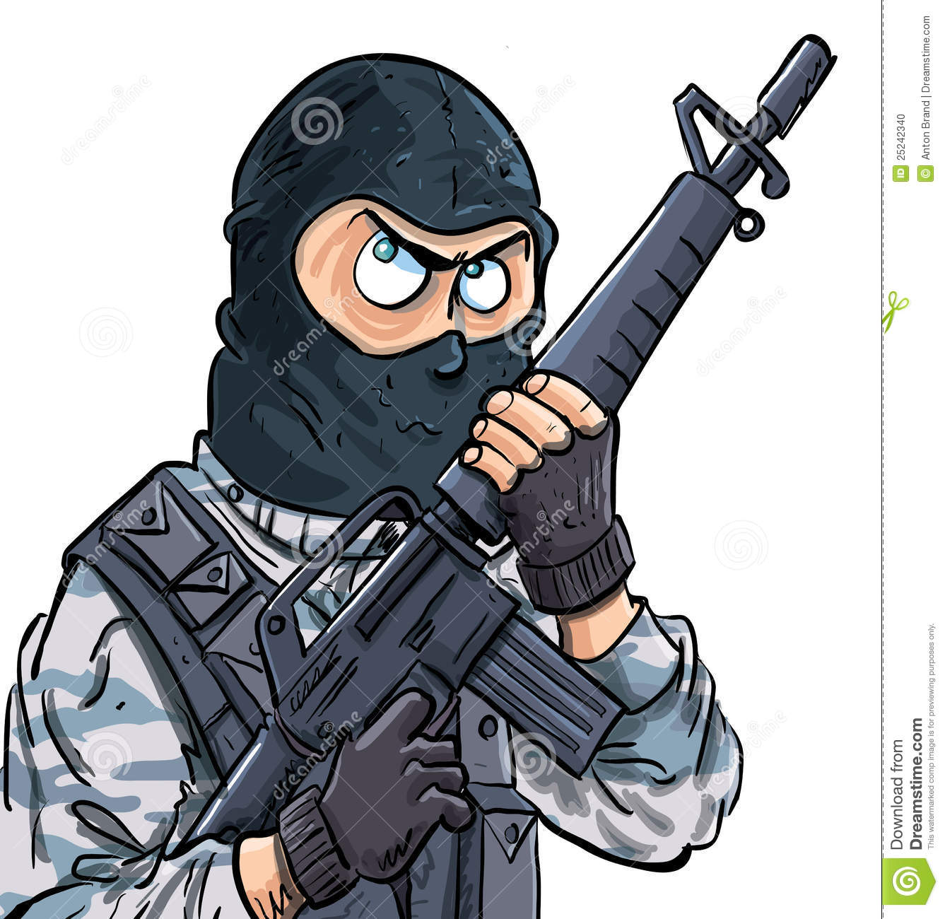 Swat Stock Illustrations.