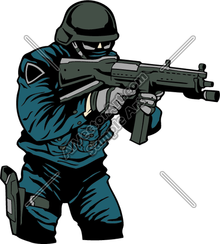 Swat clip art.