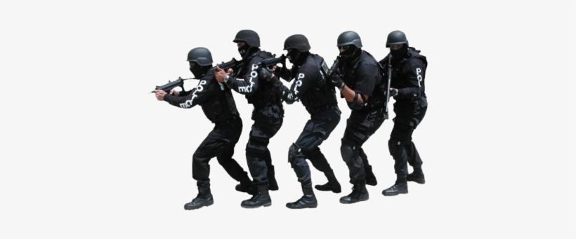 Swat Team Transparent.