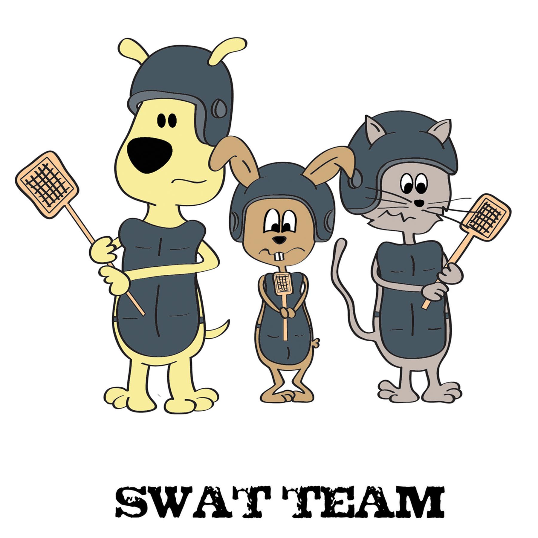 Swat Team Clip Art N5 free image.