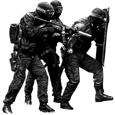 Swat Team free clipart.