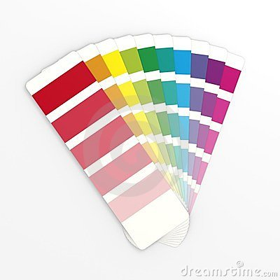 Color swatch clipart.