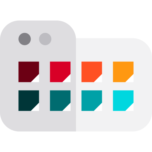 Swatch PNG Icon.