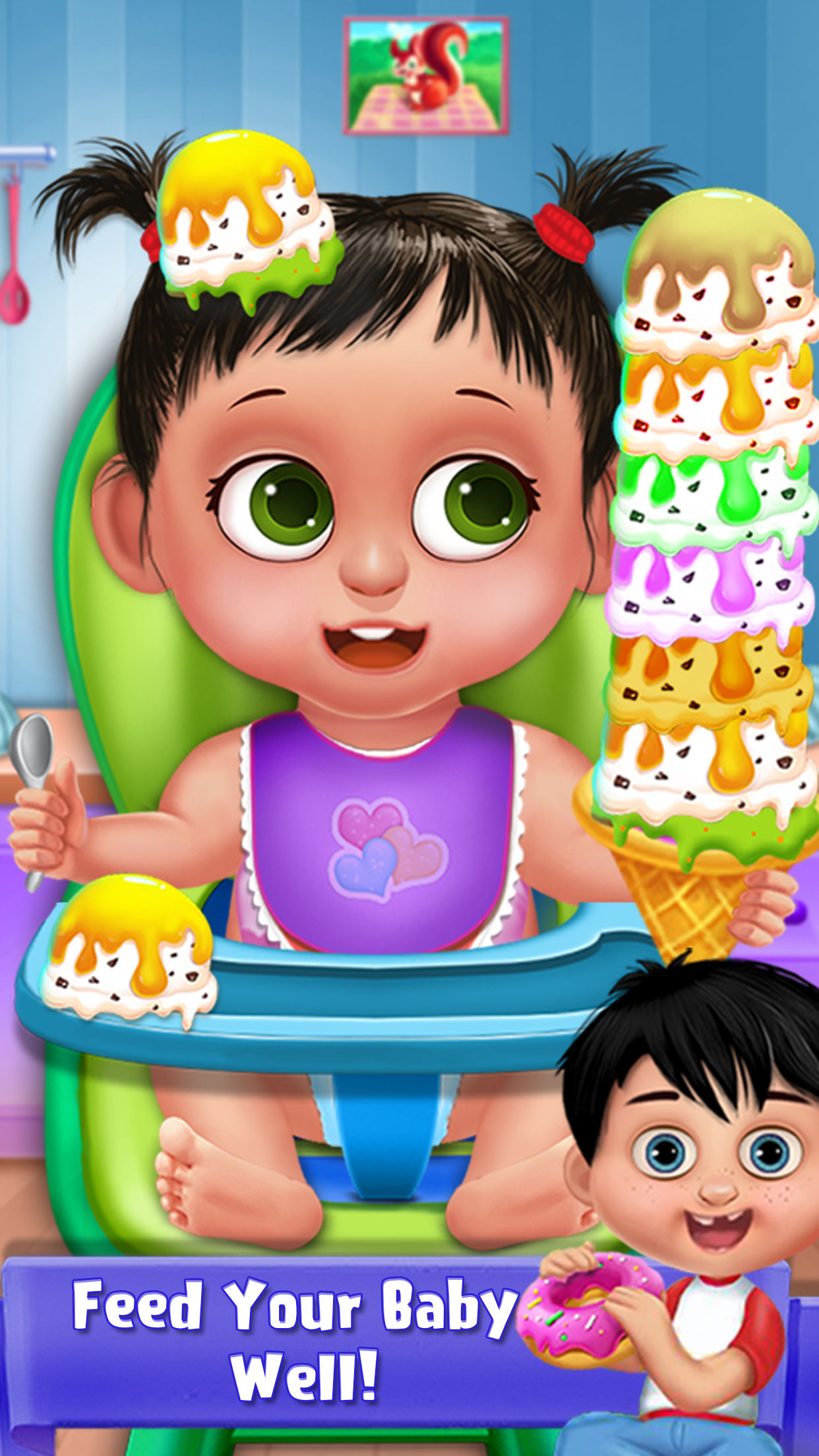 My Sweet Baby Caring by Swati Panchal.