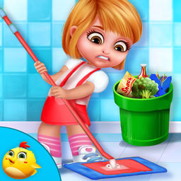 My Princess Doll House Cleanup by Swati Panchal.