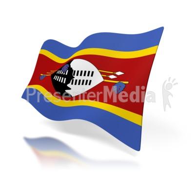 Swaziland Flag.