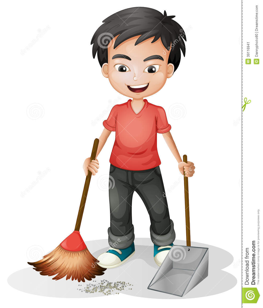 Clipart sweeping.