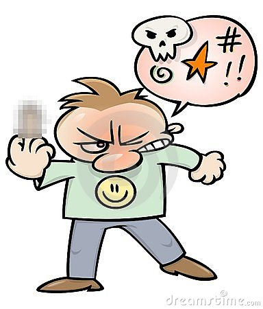 Swearing Clipart.