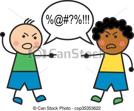 Swearing Clip Art and Stock Illustrations. 629 Swearing EPS.