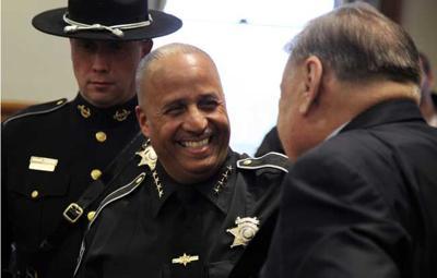 Juan Figueroa sworn in as Ulster County sheriff.