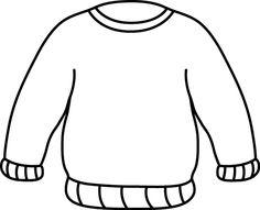 Clip Art Pink Sweater Clipart.