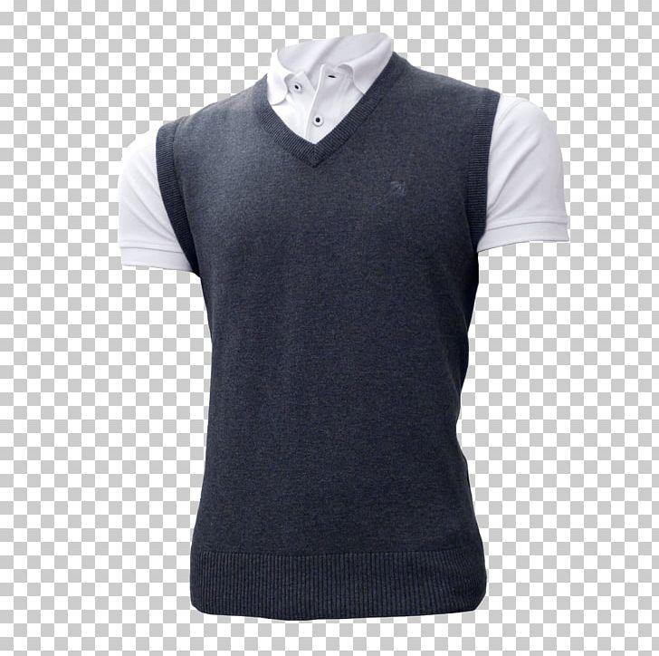 Sleeve Sweater Vest T.