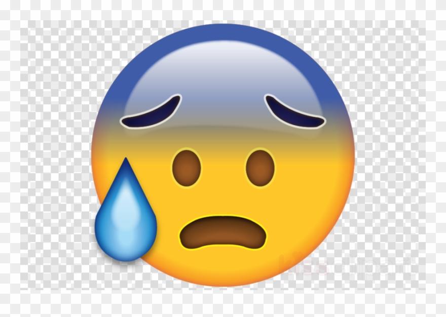 Sweating Emoji Png Clipart Emoji Smiley.