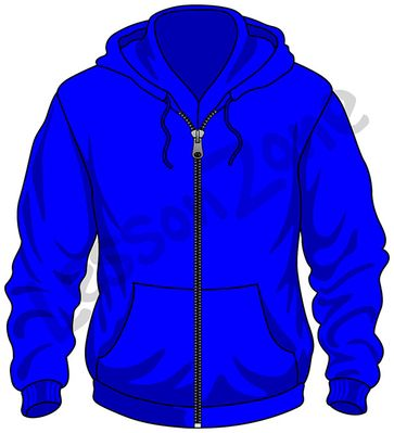 Hooded Sweatshirt Clipart.