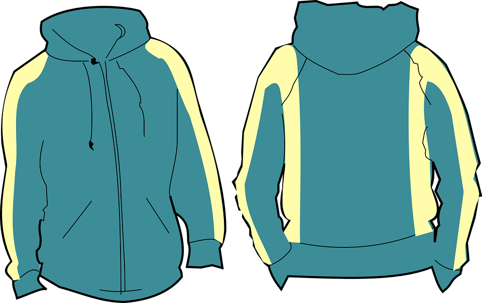 Sweatshirt free vector graphic shirt zip image on pixabay.