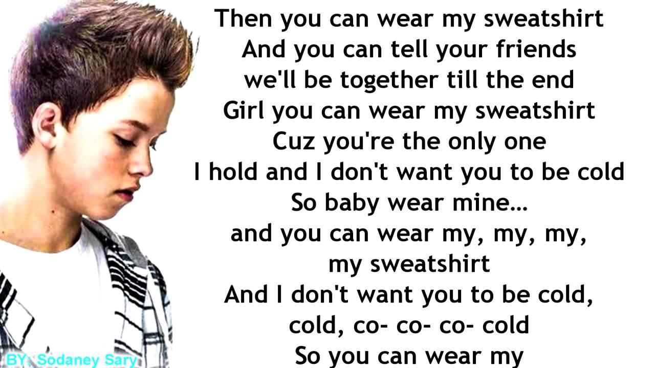 Sweatshirt Lyrics.