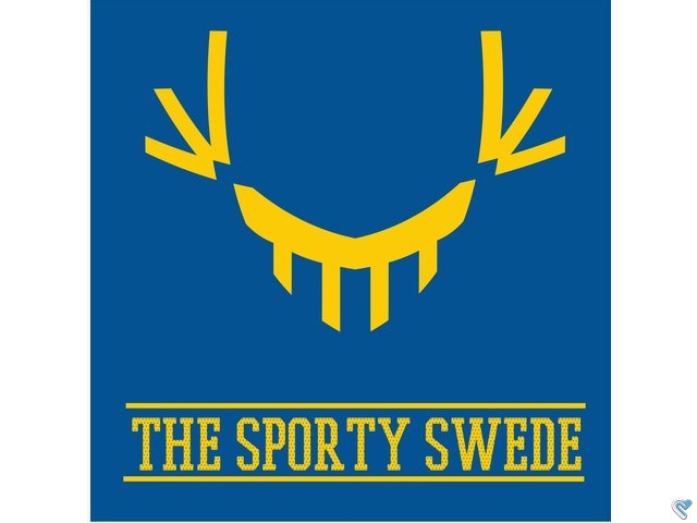 The Sporty Swede logo, selling many types of sports.