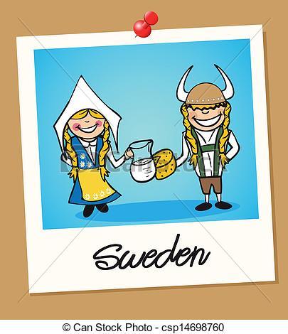 Swedish clipart.