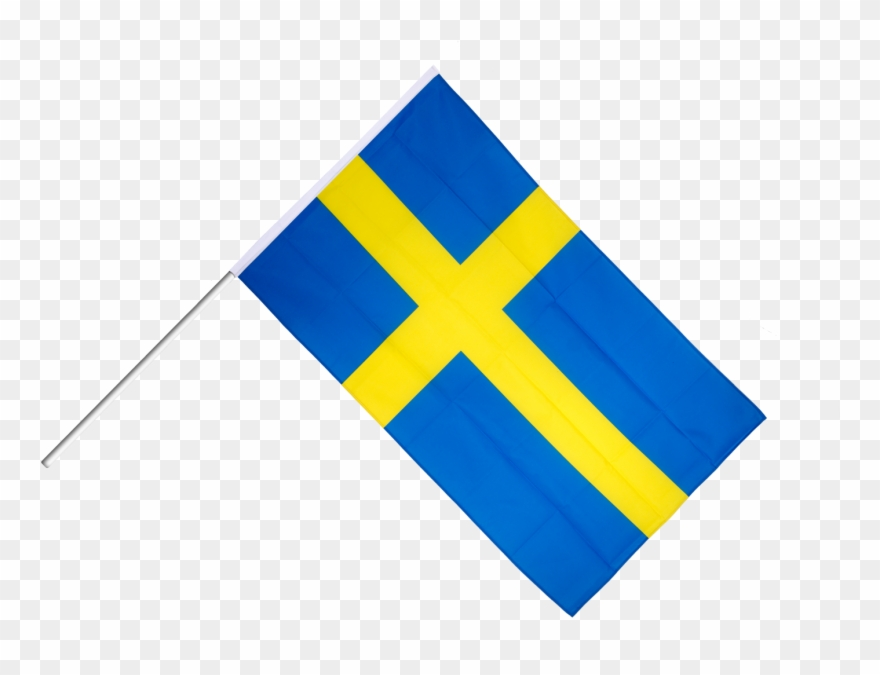 Sweden Hand Waving Flag Clipart (#2302739).