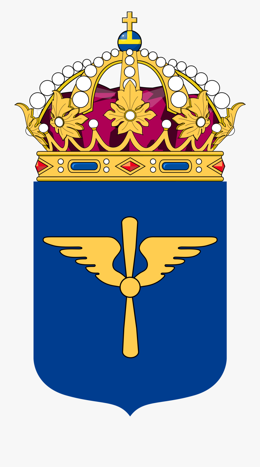Swedish Armed Forces Logo , Free Transparent Clipart.